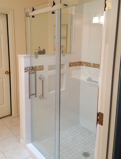 glass shower enclosures u2013 new or remodels